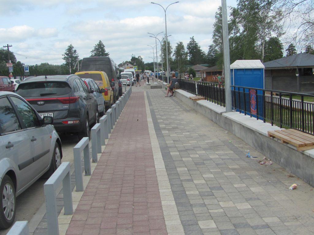 озеро Свитязь Шацкие озера новый тротуар